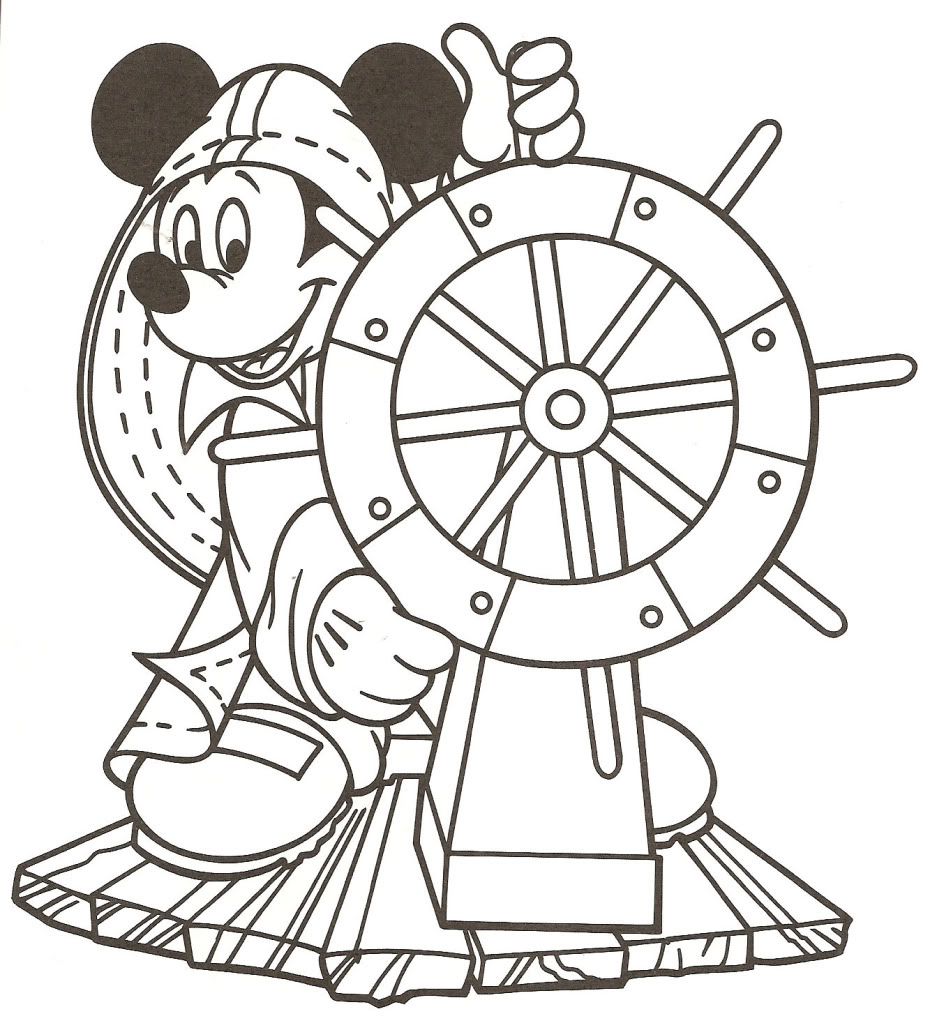 930x1023 Disney Cruise Coloring Pages Disney Cruise Coloring Pages Only