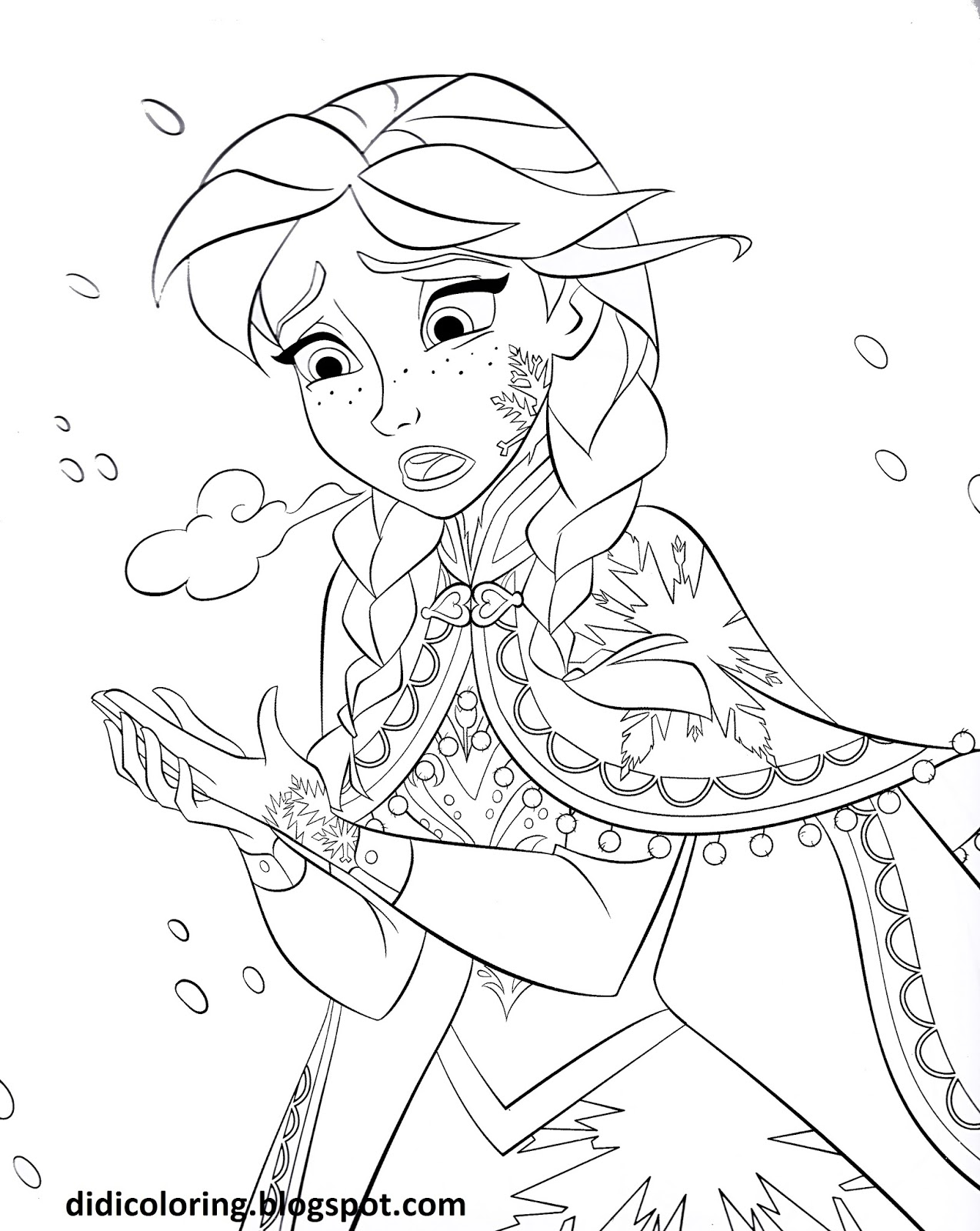 Disney Drawing Frozen At Getdrawings Com Free For Personal Use