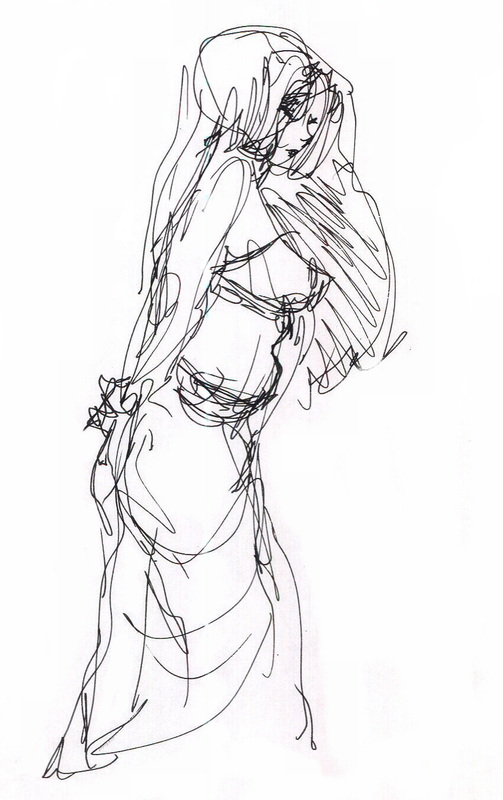 503x800 Gesture Drawing