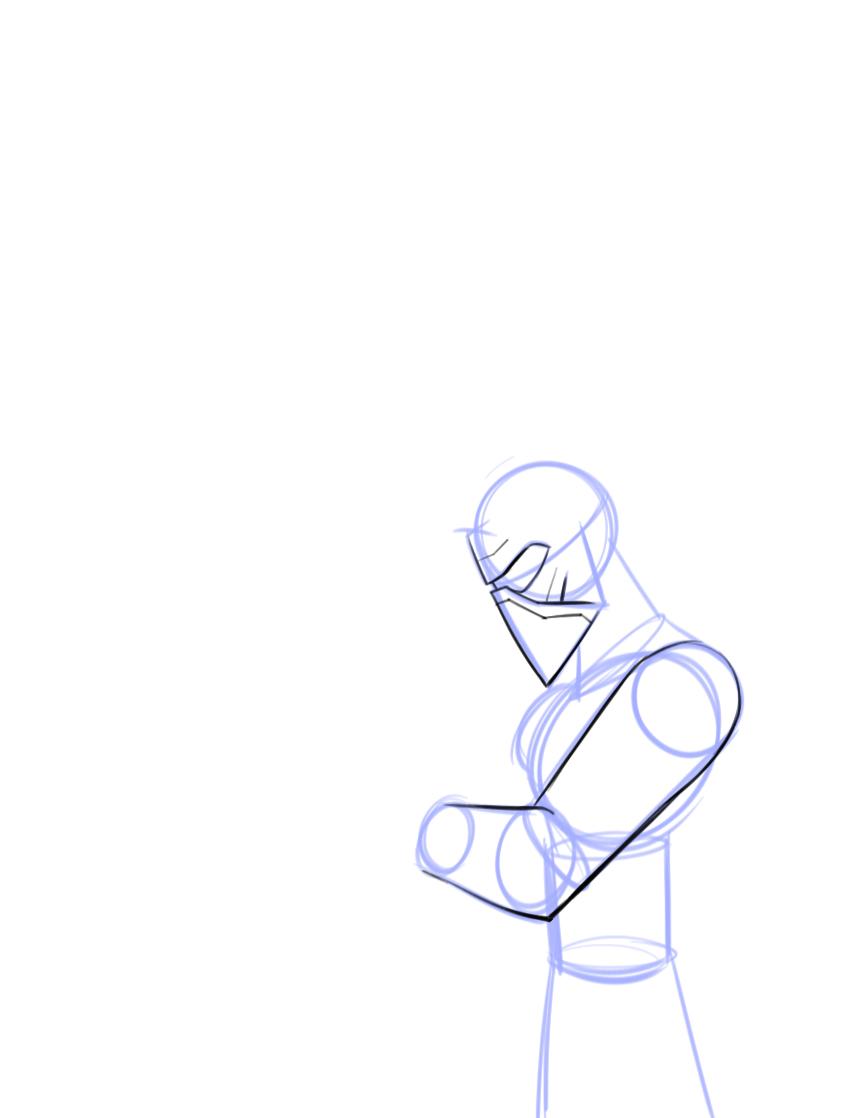 867x1118 How To Draw Kylo Ren, Disney Infinity Style