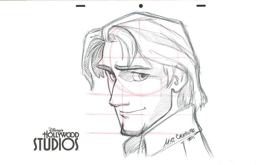 900x582 Learn To Draw Flynn Rider