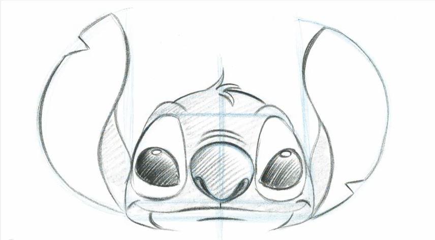 856x473 Stitch Learn To Draw Sketch The Disney Blog