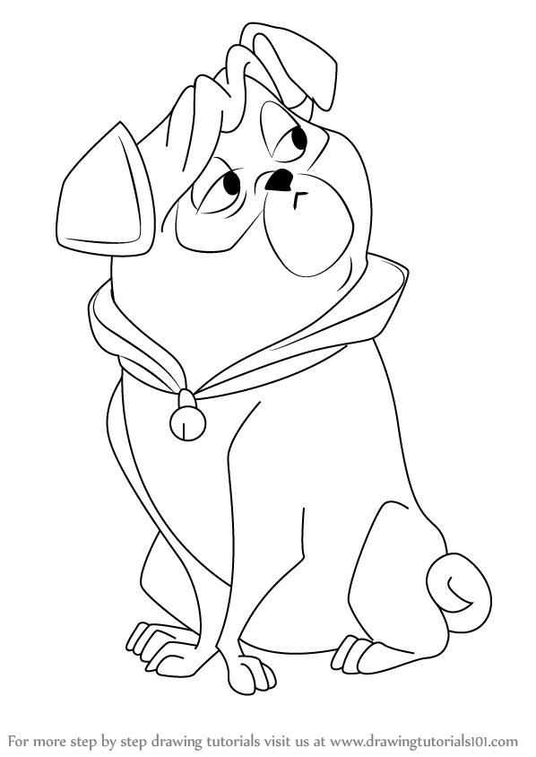 598x844 Learn How To Draw Percy From Pocahontas (Pocahontas) Step By Step