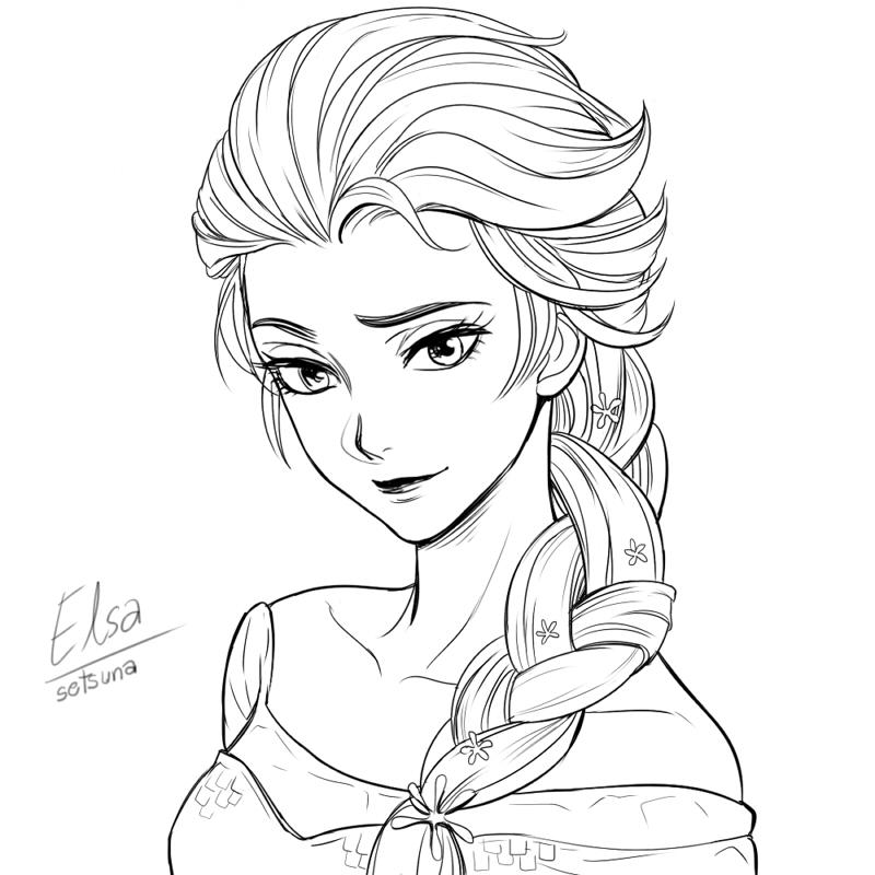 800x800 Frozen ] Elsa By Setsuna1111