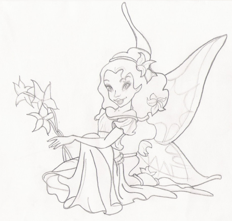 917x872 Disney Fairies Fira By Spongeeeee