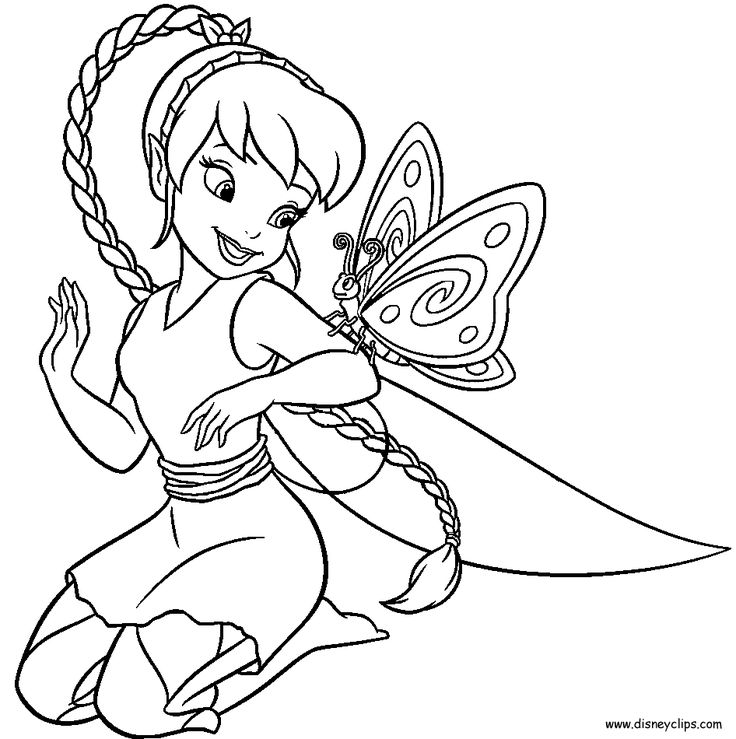 736x739 Disney Fairies Pinterest Coloring ID Cube