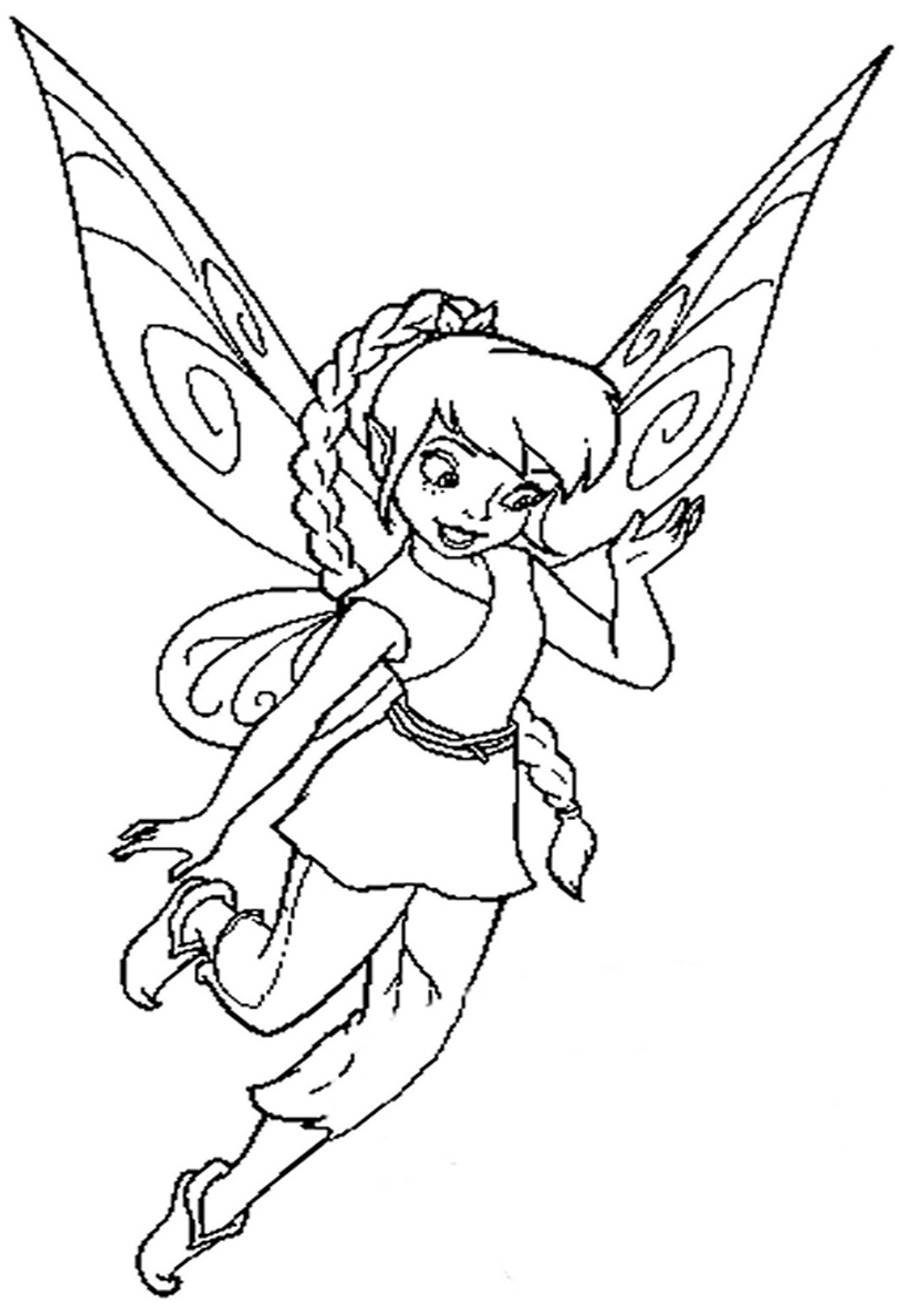 Beautiful Disney Fairies Coloring Pages Images - New Coloring Pages ...