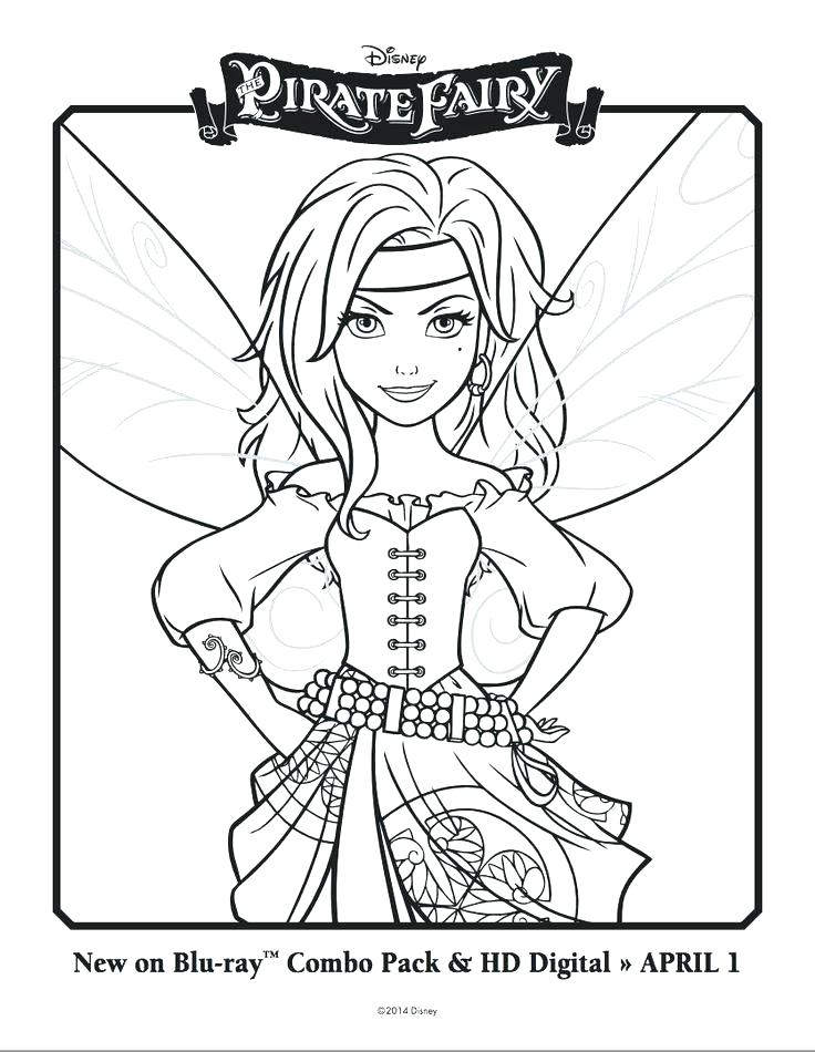 736x950 Ideal Disney Fairies Coloring Pages Free Download Picture