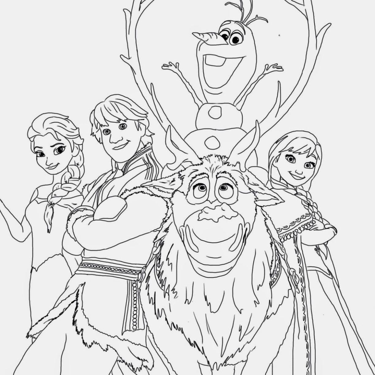 Disney Frozen Drawing at GetDrawings.com | Free for personal use ...
