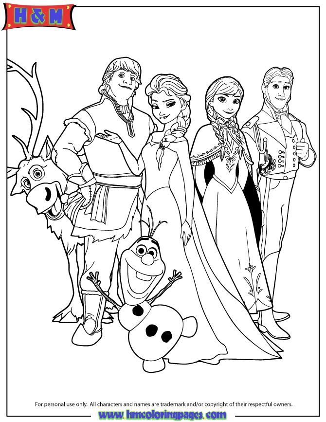 670x867 Coloring Pages Sheets Frozen Pictures