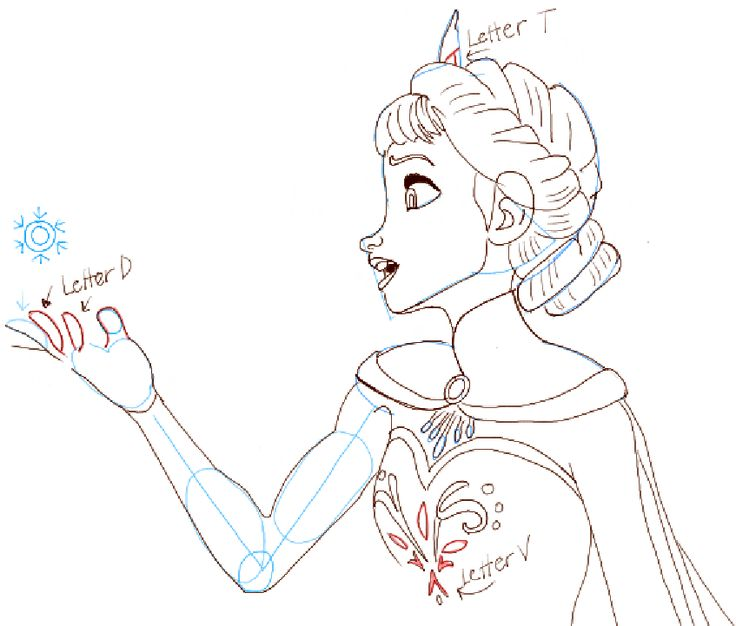 736x626 The Best How To Draw Elsa Ideas On How To Draw