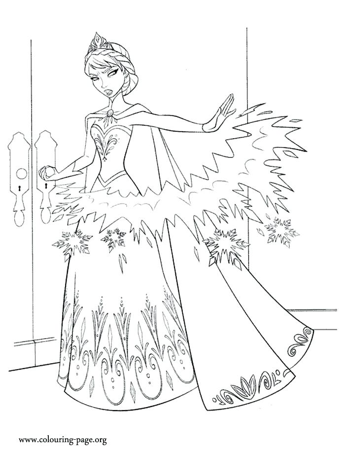 700x918 Coloring Pages Frozen Elsa Coloring Page Disney Princess Coloring