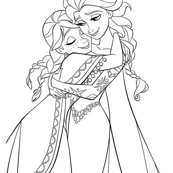 600x600 Elsa Coloring Pages Printable Disney Princess Coloring Pages