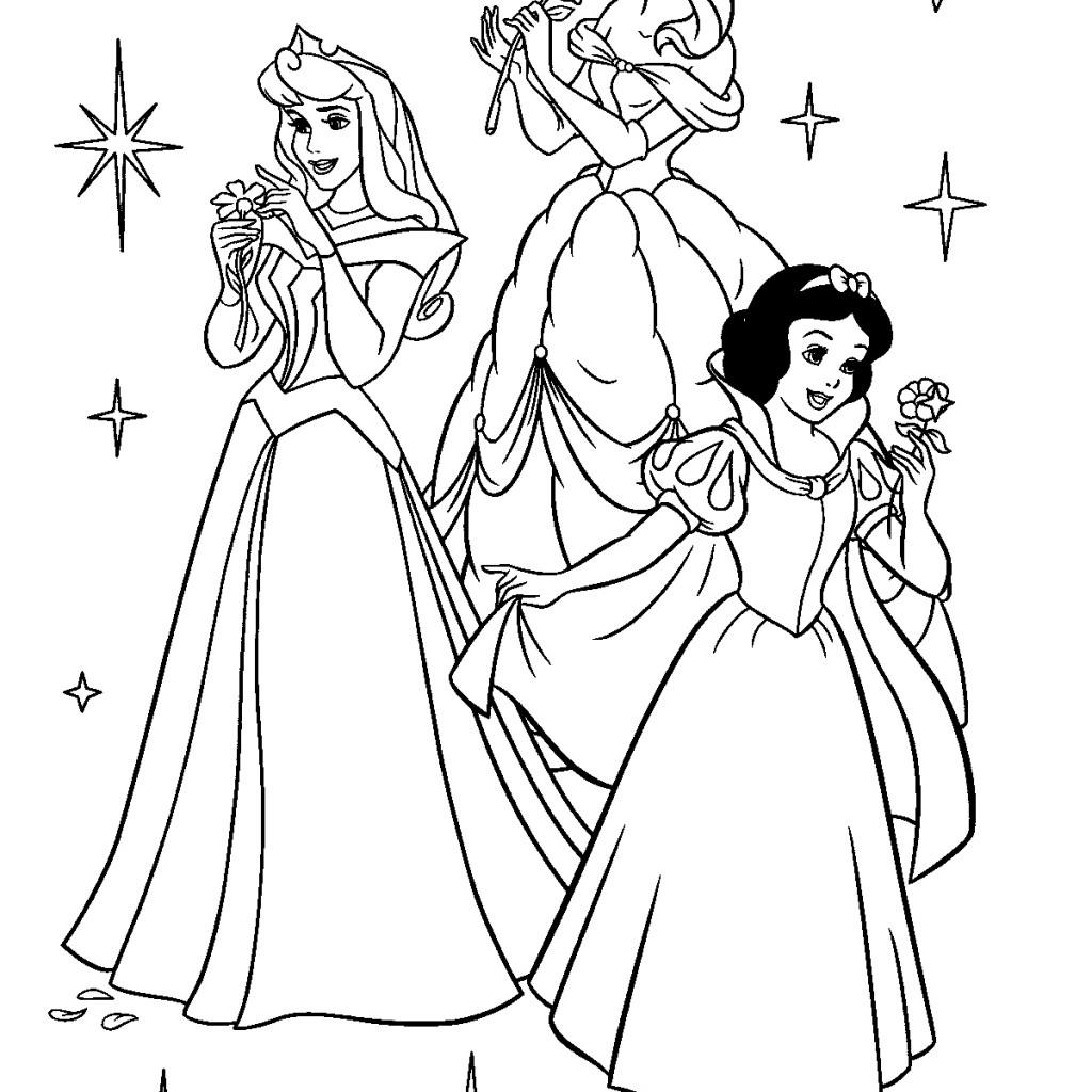 1024x1024 Unique Princess Coloring Pages Froz With Disney Princess Coloring