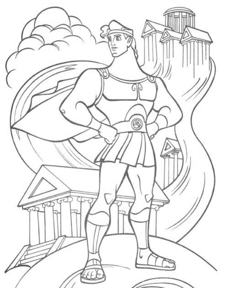 Disney Hercules Drawing at GetDrawings.com | Free for personal use ...