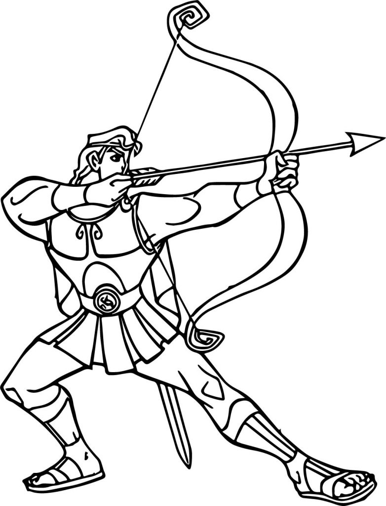 Disney Hercules Drawing at GetDrawings