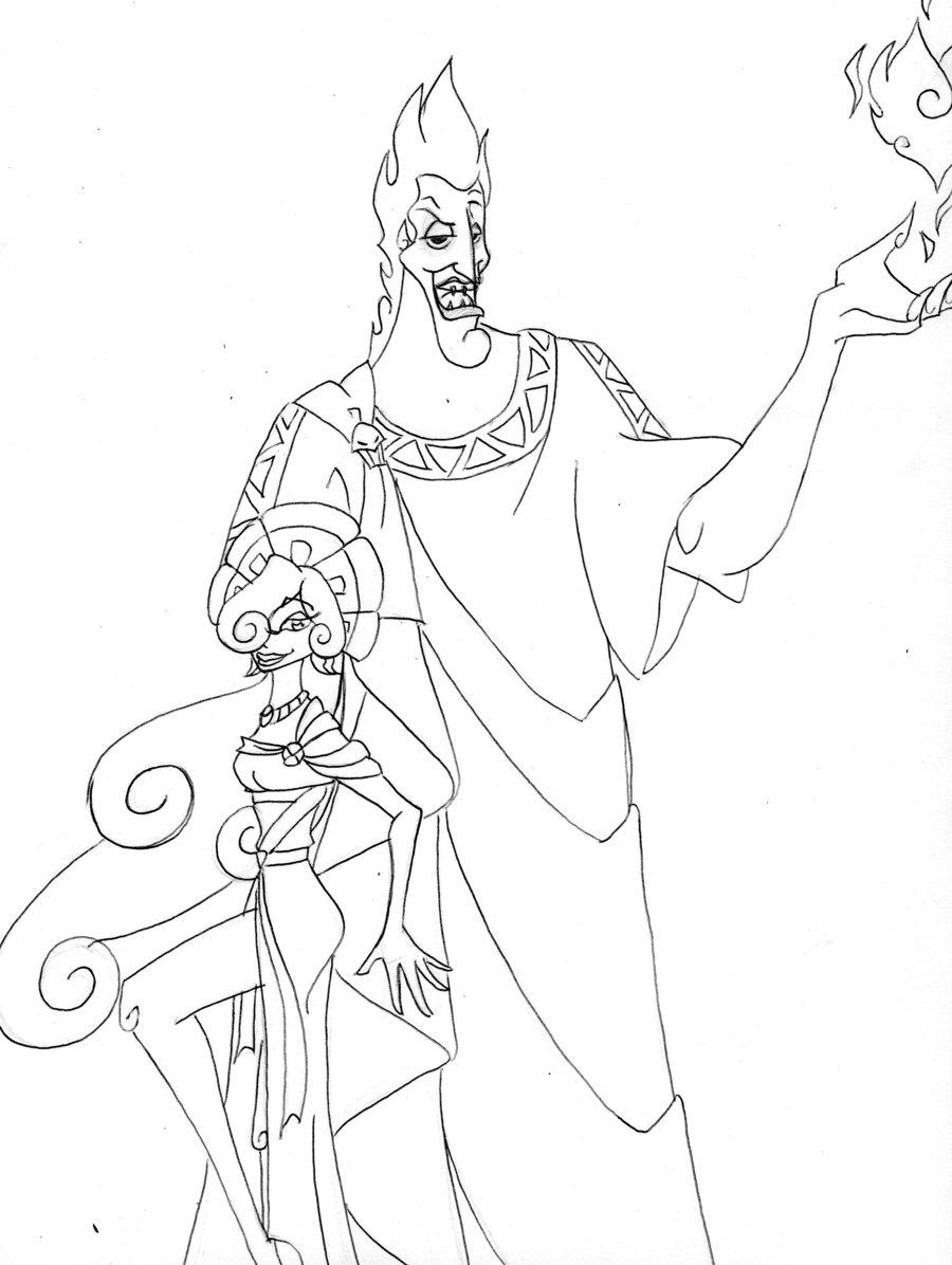 900x1196 Disney Hades And Persephone By Uav On DeviantArt