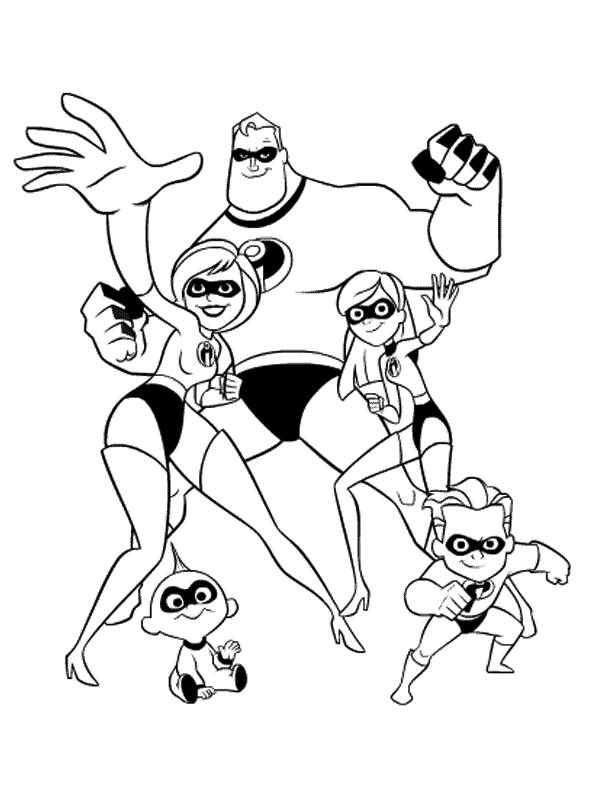 600x800 Disney Infinity Mr Incredible Coloring Pages Disney Infinity Woody