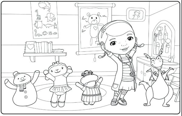 600x383 Disney Junior Coloring Pages Junior Coloring Pages To Good Draw