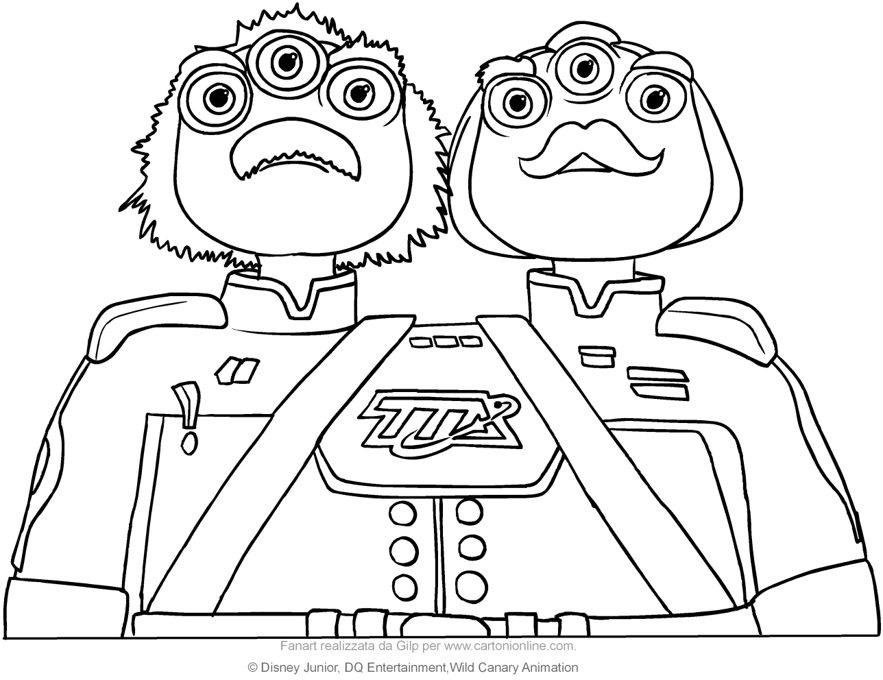 1288x992 Disney Junior Coloring Pages Miles From Tomorrowland For Funny