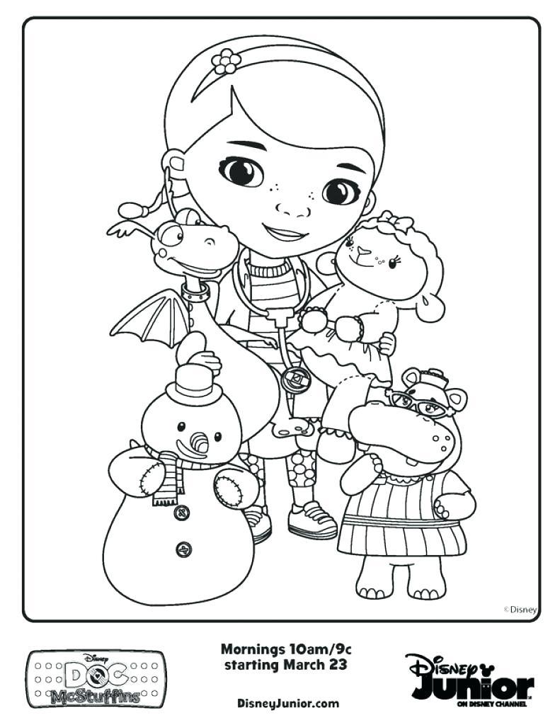 791x1024 Coloring Disney Junior Printable Coloring Pages Doc. Disney