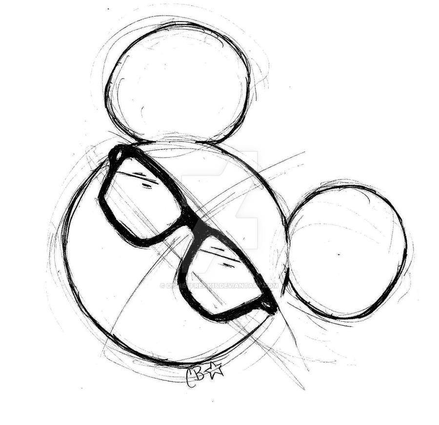 900x871 Disney Hipster Logo By Disneyfreak15