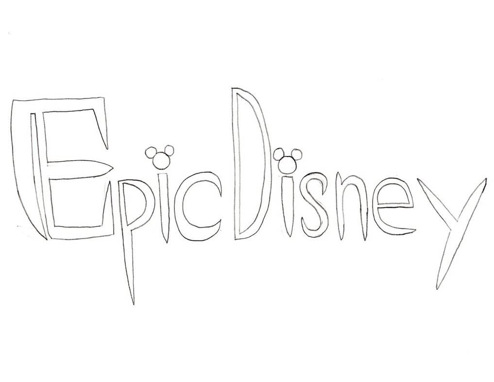1017x786 Epic Disney Logo By Digitalmindtaker