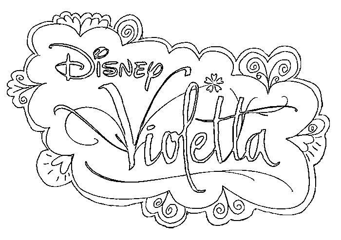700x493 Pour Imprimer Ce Coloriage Gratuit Violetta Logo