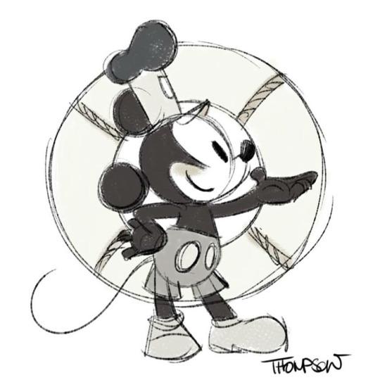 540x540 Happy Birthday, Mickey! By Steve Thompson Disneymania