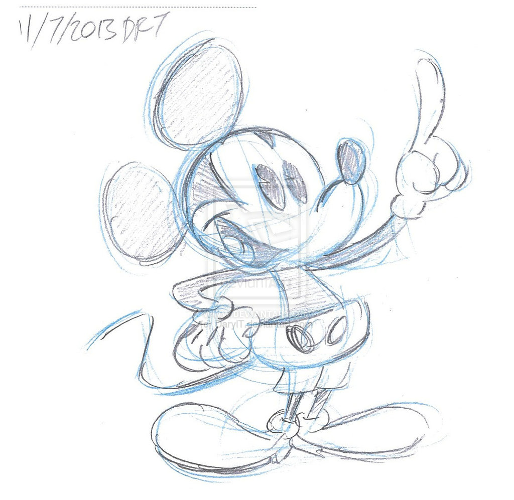 1024x997 Cartoon Drawing Mickey Mouse Cartoon Drawing Mickey Mouse How