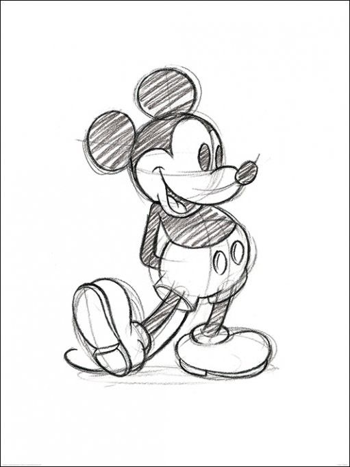 511x681 Pin By Vivian Scibilia On Drawing Mickey Mouse, Mice