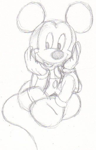 327x510 The Best Mickey Mouse Sketch Ideas On Mickey Mouse