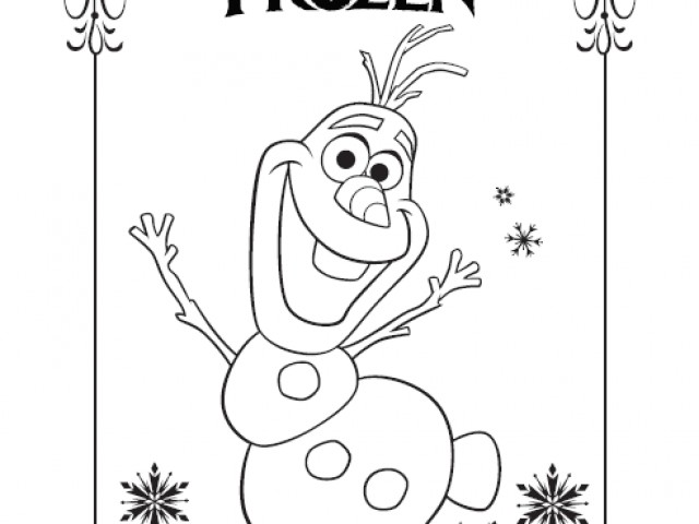 640x480 disney frozen olaf coloring pagesfree coloring pages for kids