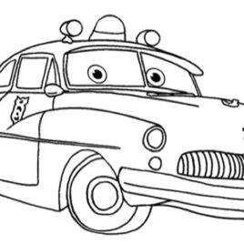 268x268 Coloring Pages Cars Pixar Archives