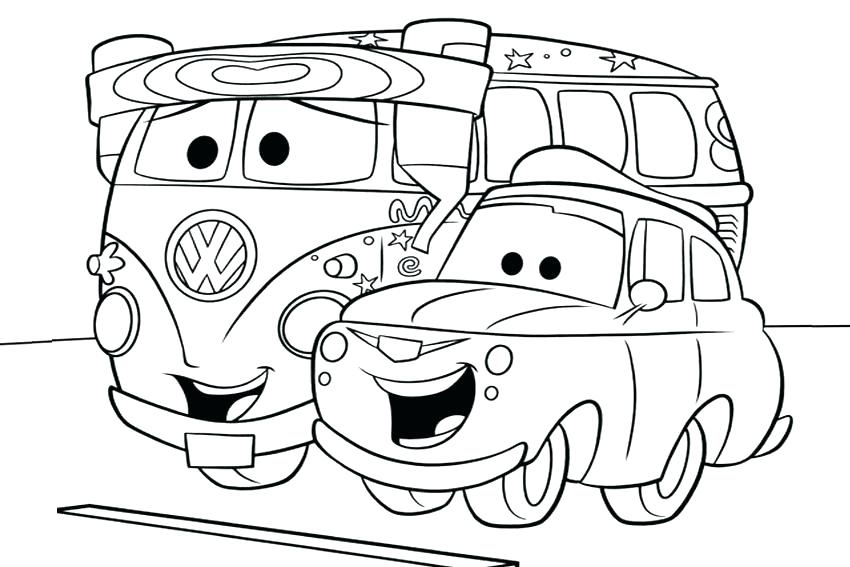 850x567 Disney Pixar Cars Movie Coloring Pages Printable To Snazzy Page