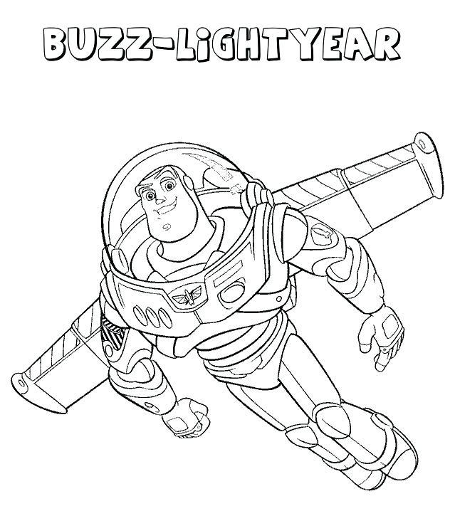 639x718 Disney Pixar Coloring Pages Buzz Coloring Pages A Disney Pixar