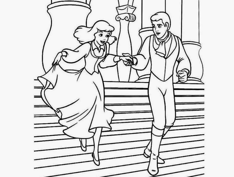 962x731 Colour Drawing Free Wallpaper Disney Princess Ariel And Prince