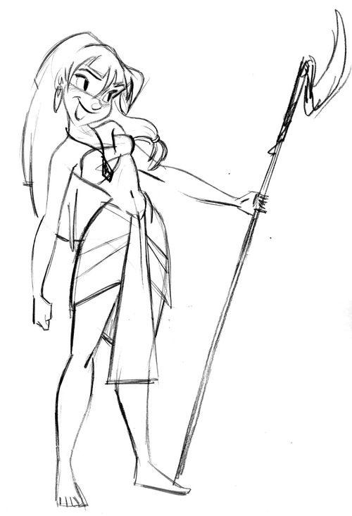 500x733 Drawn Princess Disney Character