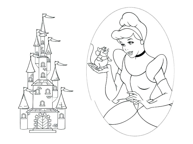 800x600 Disney World Coloring Book And Characters Pages 61