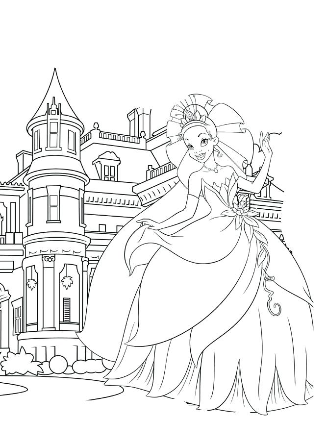 Disney Princess Castle Drawing at GetDrawings.com | Free for ...