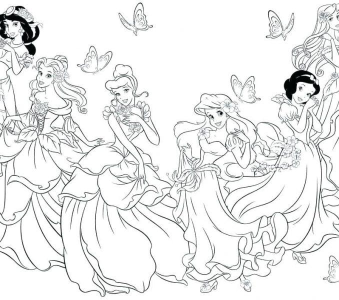 678x600 Disney Princess Print Disney Princess Pictures To Print Print It