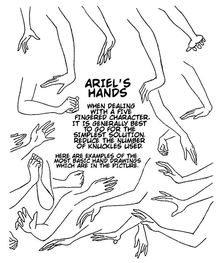 736x883 Drawn Hand Disney Princess