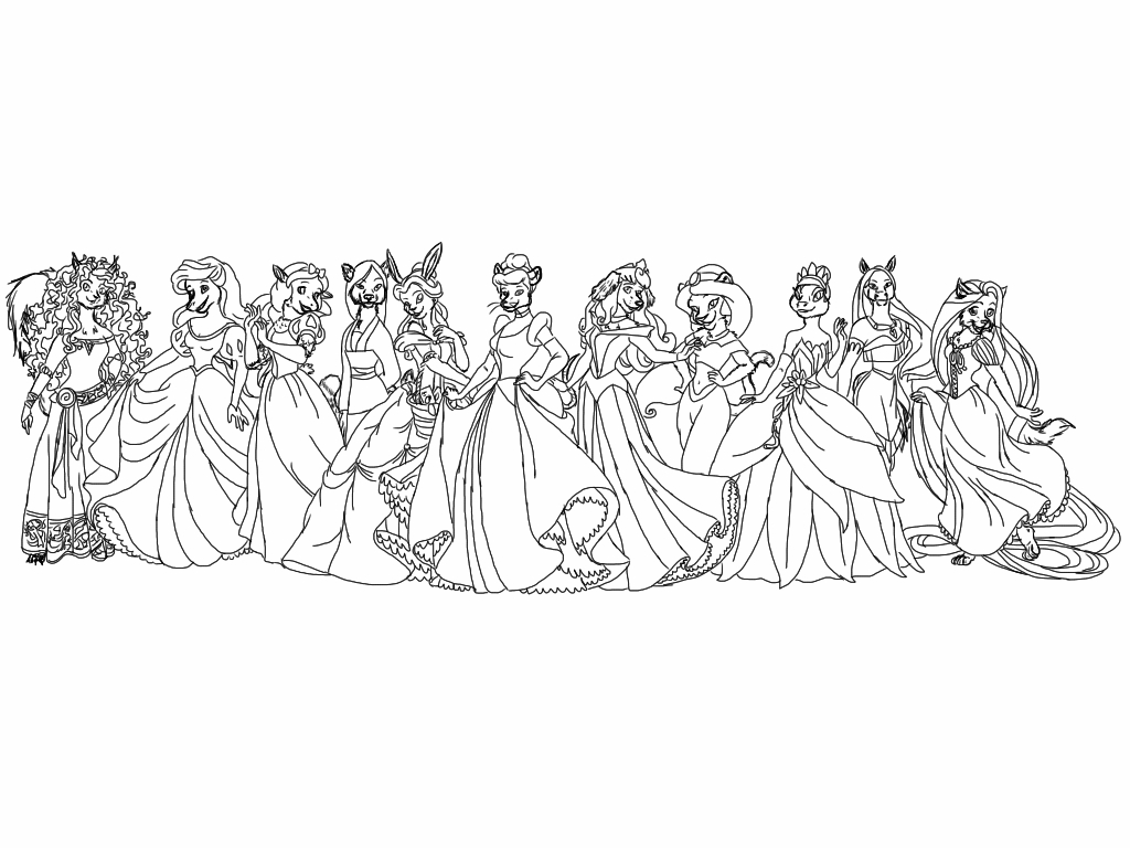 Disney Princess Drawing At Getdrawingscom Free For Personal Use