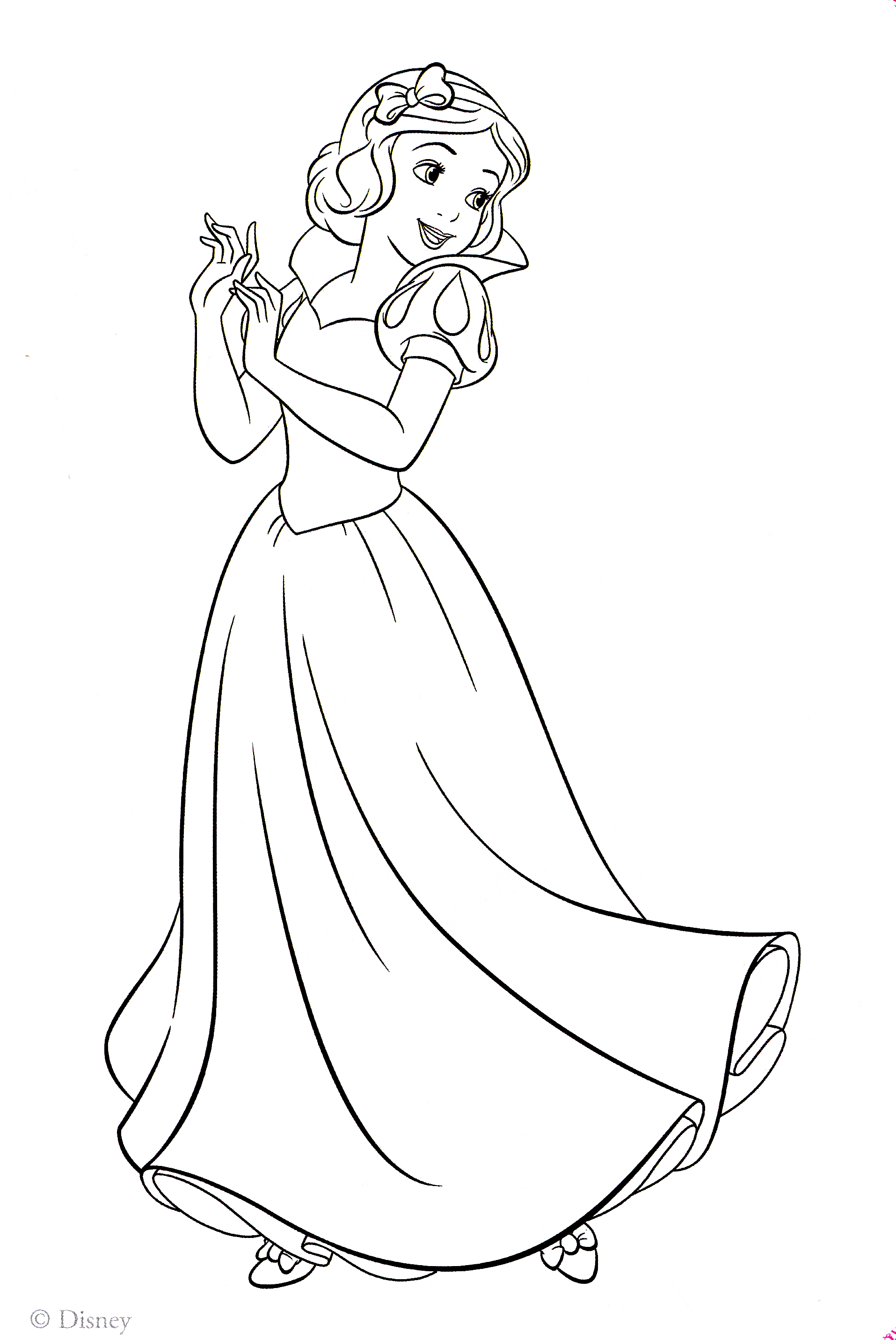 1915x2864 Snow White Free Printable Halloween Coloring Pages Of Cartoons