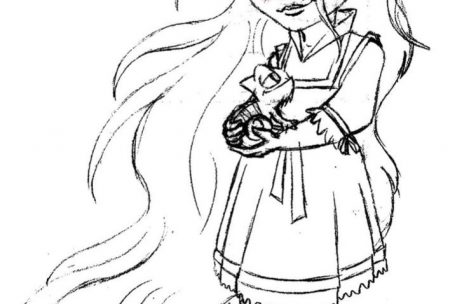 469x304 Coloring Pages For Girls Baby Disney Princess Just Colorings