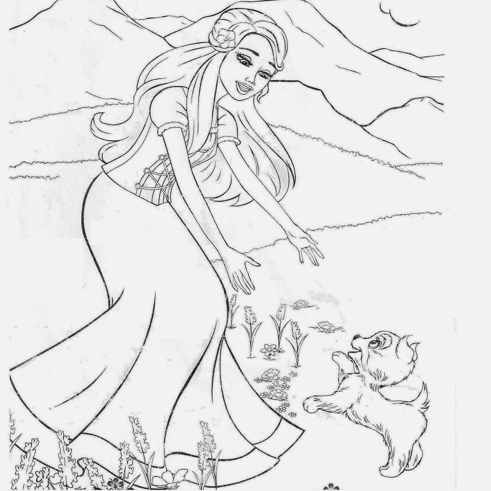 1600x1599 Pencil Sketch Of Princess Amp Prince Best Disney Princess