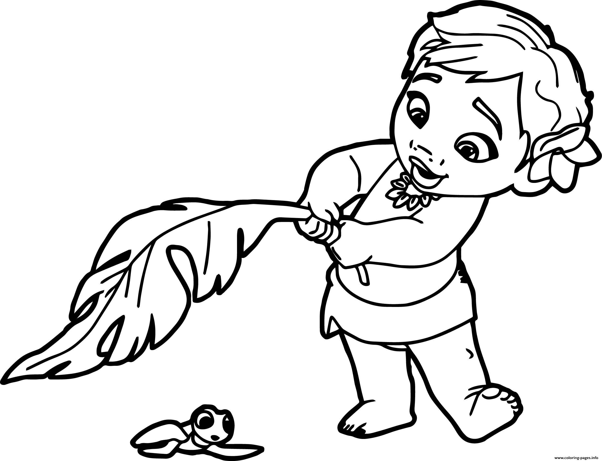 2484x1903 Print Baby Moana Princess Disney Coloring Pages Magi