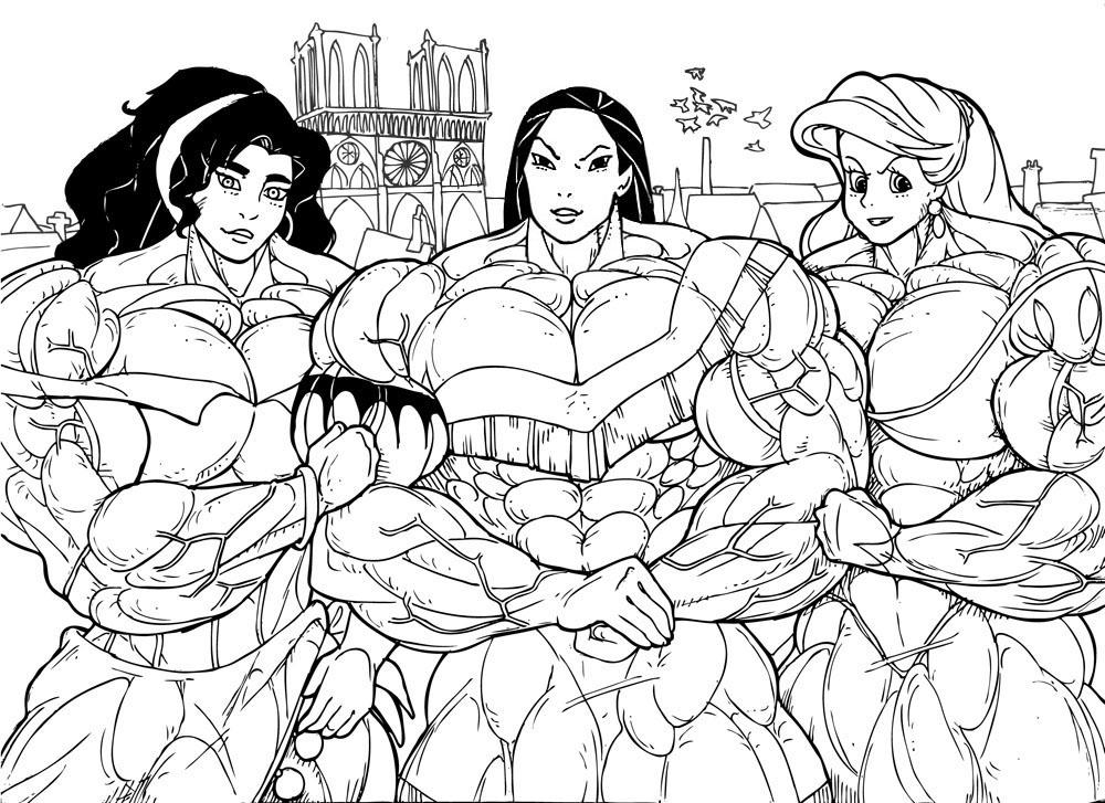 1000x727 Disney Princesses 3 By Rssam000