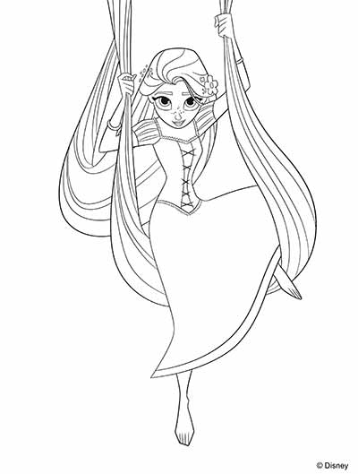 Disney Rapunzel Drawing