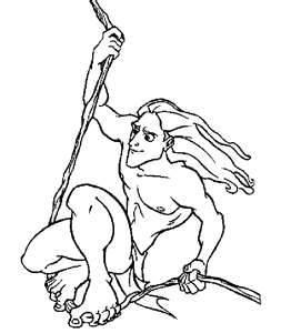 Disney Tarzan Drawing